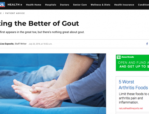 U.S. News.com – Getting the Better of Gout