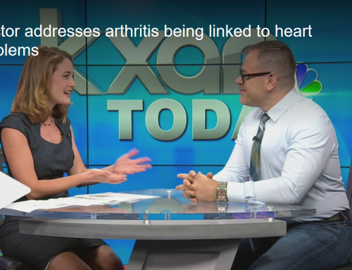 Doctor addresses arthritis being linked to heart problems